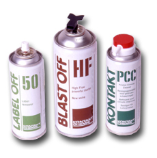 Christensen Spray Cans