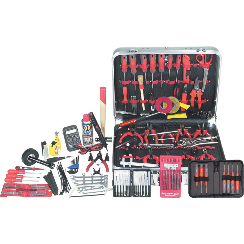 Christensen PROFESSIONAL DELUXE SERVICE TOOLKIT 122-PCE