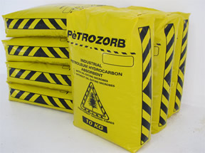 Petrazorb Industrial hydrocarbon and chemical absorbent