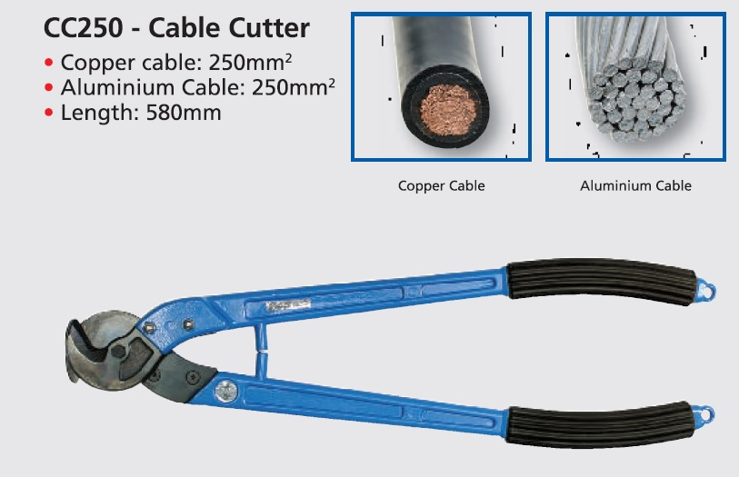 Christensen Cable Cutter for Copper & Ali