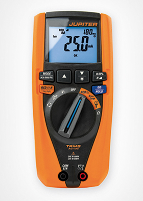 SAFTEC professional multifunction multimeter The Jupiter
