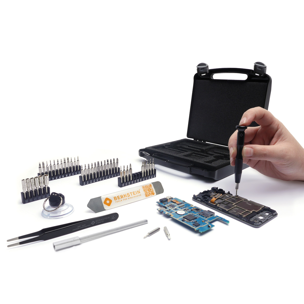 Bernstein 47-piece precision repair kit APPLE SAMSUNG HUAWEI