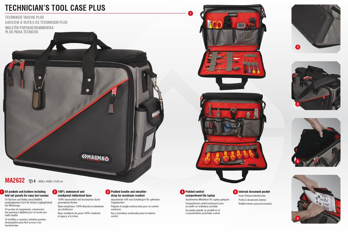 Technicians Tool Case - Magma