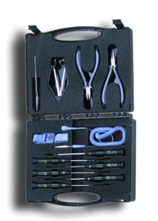 C.K. SensoPlus 12 Pcs ESD-Hand Tool Kit in Service Case