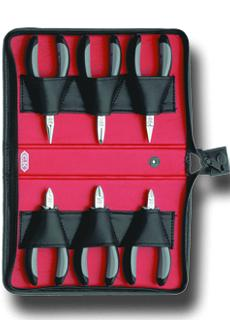 C.K. SensoPlus 6 Pcs Plier Set in Zip Wallet