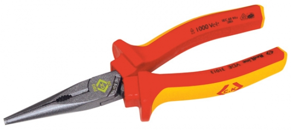 C.K. VDE Snipe nose pliers - Straight