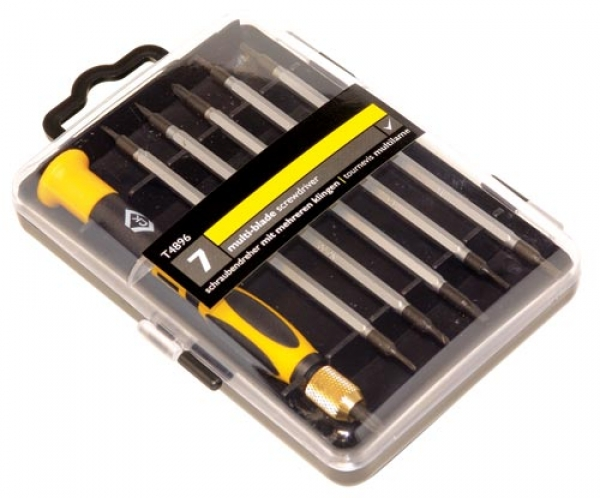 C.K. Screwdriver set - 7 Piece SL/PH/TX
