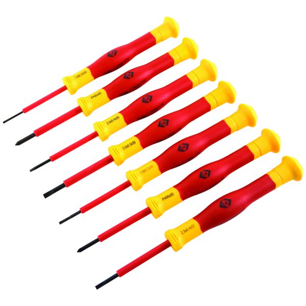 C.K. VDE Precision Screwdriver Set of 7