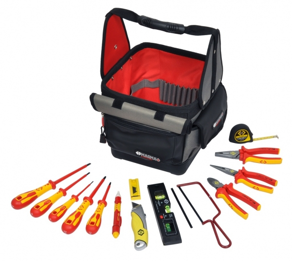 Electrician's Tool Tote Kit