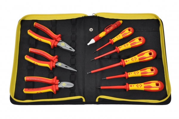 C.K. Electrician's VDE Pliers & Screwdrivers Kit (PZ)