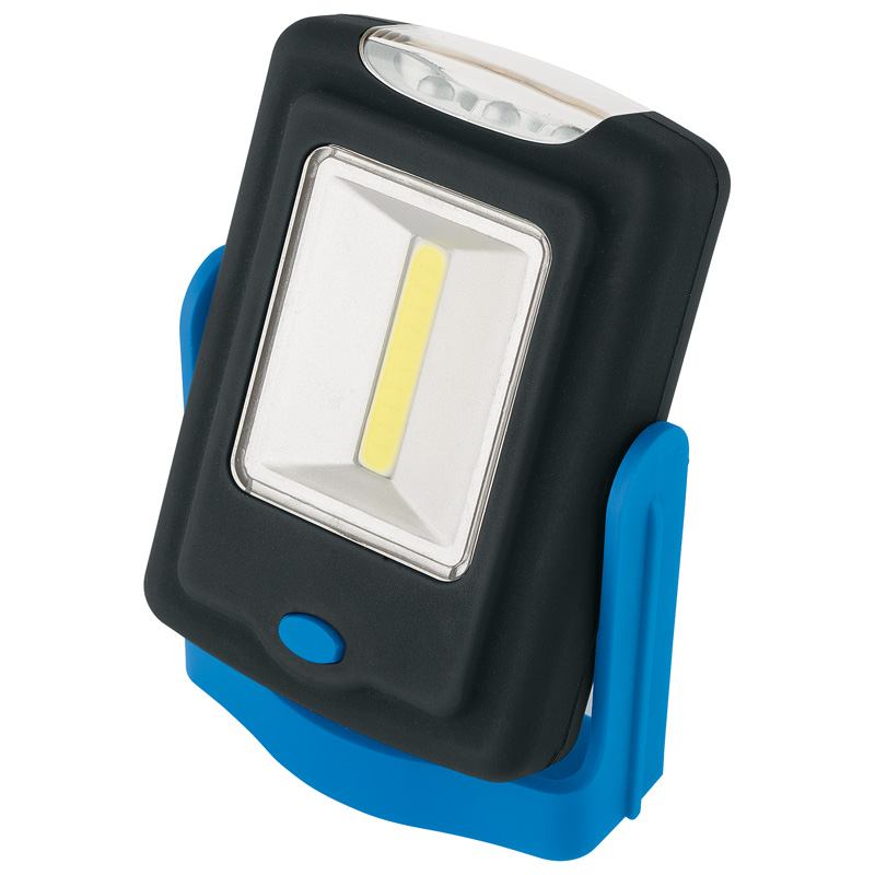Draper COB LED Magnetic Worklight (3W) (3 X AAA Batteries