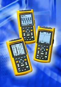 FLUKE ScopeMeter 120 Series