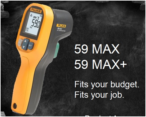 FLUKE 59 MAX/59 MAX+ Infrared Thermometers