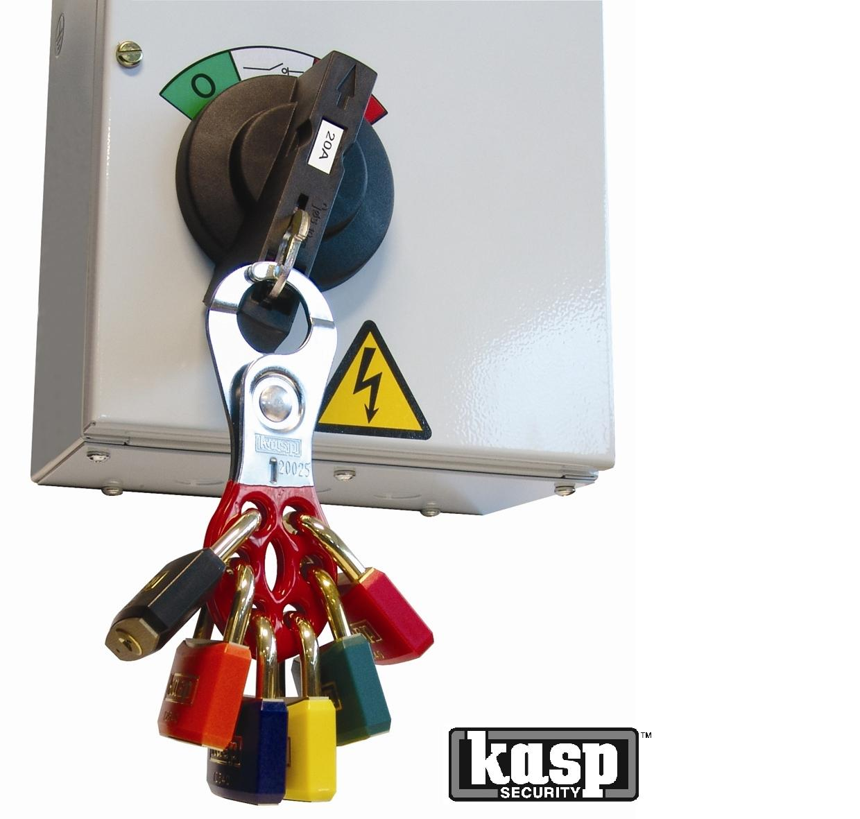 KASP Premium Plastic coated Brass Padlocks