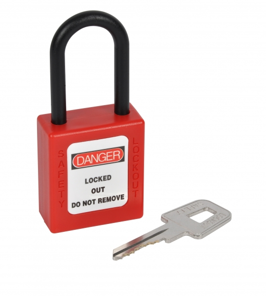 KASP Nylon Safety Padlock 38mm