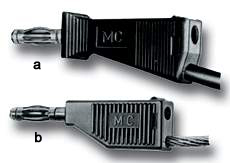 MULTI-CONTACT 4mm Lab. leads with Multilam and individual parts