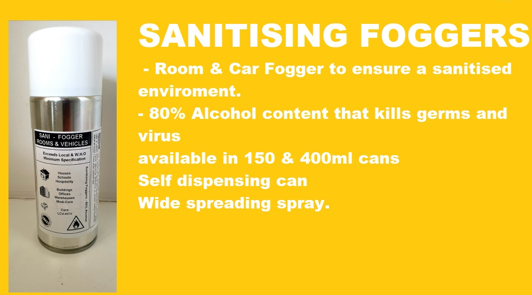 Fogger spray can