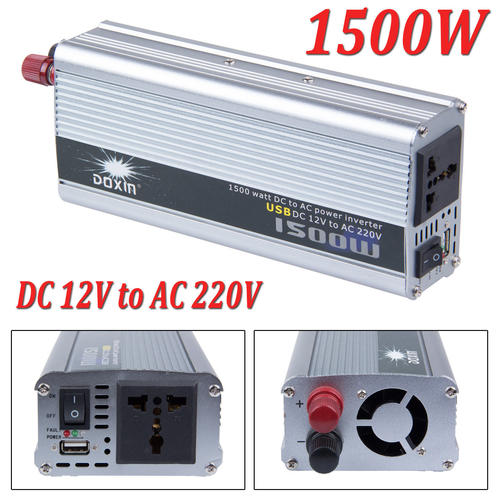Christensen 1500W 12V DC to AC 220V Power Inverter