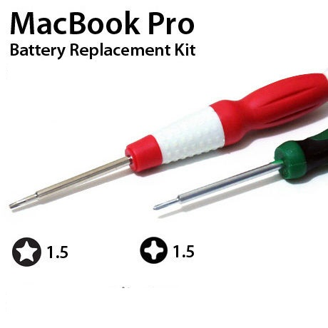 Christensen MacBook Pro 15 Battery Repair Kit Star 5 Point 2.0