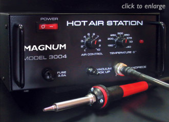 MAGNUM Hot Air stations