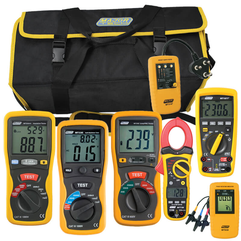 Major Tech Electrical Contractors Test Kit