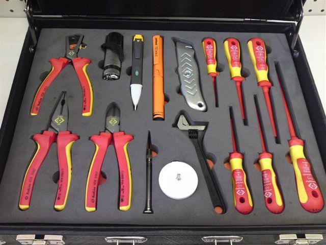 Christensen Electrical / Electrician Toolkit (VDE approved)