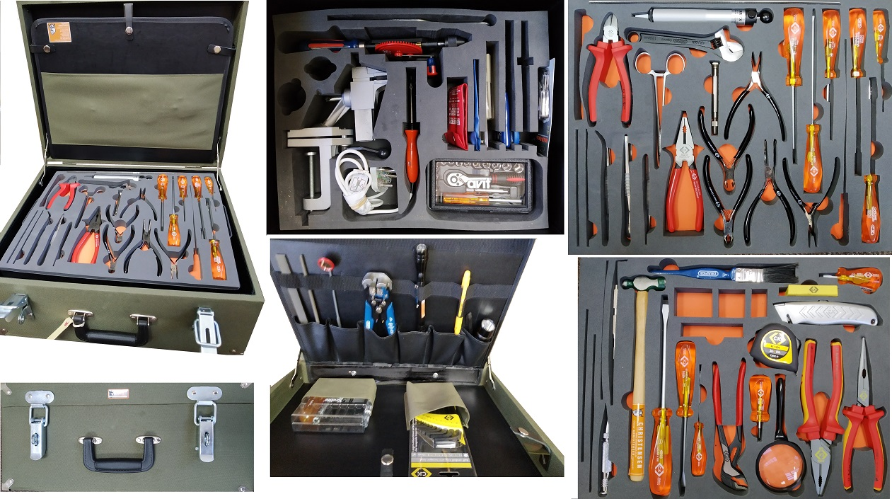 Tool Kit, Electronic, Engineers, Technicians