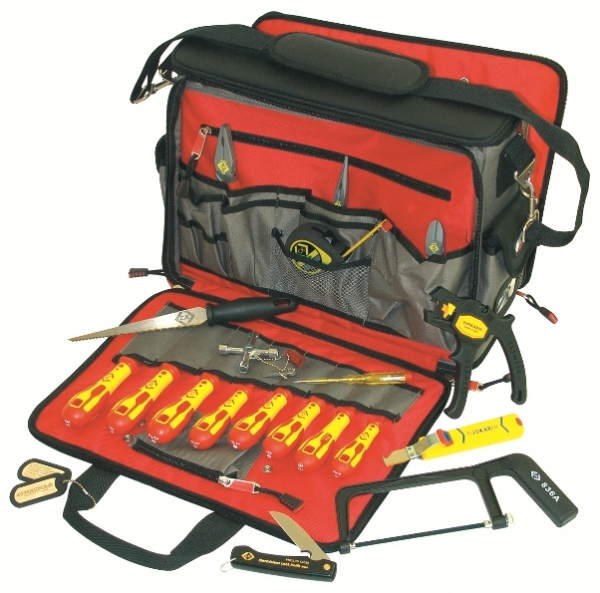 Electrician's premium tool kit - European