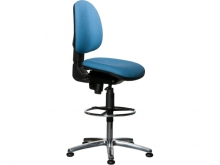 WARMBIER Comfort Chair - high model with extension in colou
