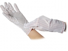 WARMBIER ESD-Gloves polyester - with PU-coating