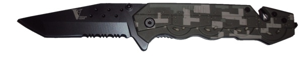 SAFTEC Military Camo Special Ops Knife